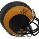 Kevin Greene Autographed Signed Los Angeles Rams Mini Helmet JSA