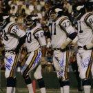 Purple People Eaters (4 Sigs) Signed Autographed Minnesota Vikings 16x20 Photo BECKETT