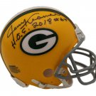 Jerry Kramer Signed Autographed Green Bay Packers Mini Helmet BECKETT
