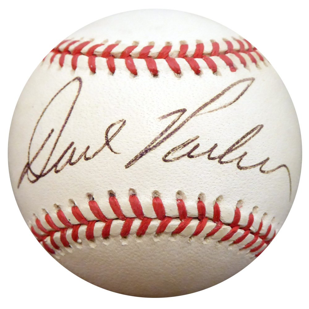 Dave Parker Pirates Reds Signed Autographed Official NL Baseball BECKETT