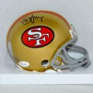 Steve Young Signed Autographed San Francisco 49ers Mini Helmet JSA