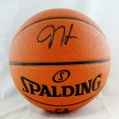 James Harden Houston Rockets Autographed Signed Basketball BECKETT