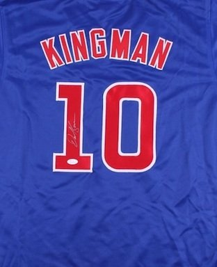 Dave Kingman Signed Autographed Chicago Cubs Jersey JSA
