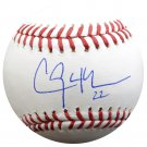 Clayton Kershaw Los Angeles Dodgers Signed Autographed Baseball PSA