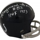 Raymond Berry Autographed Signed Baltimore Colts Mini Helmet SGC
