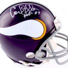 Carl Eller Autographed Signed Minnesota Vikings Mini Helmet JSA