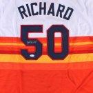 J. R. Richard Signed Autographed Houston Astros Jersey JSA