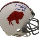 Billy Shaw Autographed Signed Buffalo Bills Mini Helmet OA COA