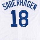 Bret Saberhagen Signed Autographed Kansas City Royals Jersey JSA