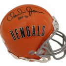 Charlie Joiner Autographed Signed Cincinnati Bengals Mini Helmet JSA