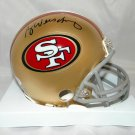 Ray Wersching Signed Autographed San Francisco 49ers Mini Helmet JSA