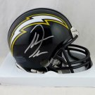 Antonio Gates Autographed Signed San Diego Chargers Mini Helmet BECKETT