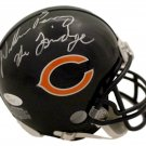 William Perry Signed Autographed Chicago Bears Mini Helmet JSA