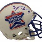 Brian Urlacher Bears Signed Autographed 2002 Pro Bowl Mini Helmet MM COA