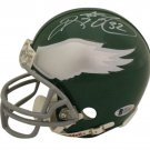 Ricky Watters Signed Autographed Philadelphia Eagles Mini Helmet BECKETT