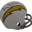 Gary Garrison Autographed Signed San Diego Chargers Mini Helmet PSA