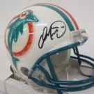 Dan Marino Autographed Signed Miami Dolphins Mini Helmet GAA COA