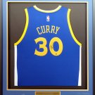 Stephen Curry Golden State Warriors Autographed Signed Framed Adidas Jersey STEINER