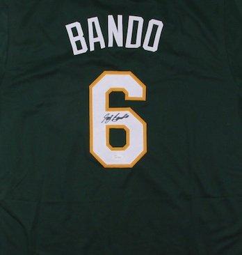 Sal Bando Autographed Signed Oakland Athletics Jersey JSA