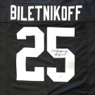 Fred Biletnikoff Autographed Signed Oakland Raiders Jersey PSA