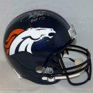 Terrell Davis Autographed Signed Denver Broncos Full Size Helmet JSA