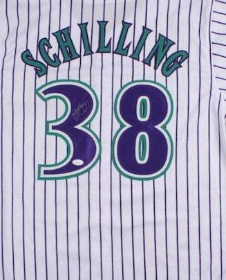 Curt Schilling Autographed Signed Arizona Diamondbacks Jersey JSA
