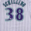 Curt Schilling Autographed Signed Arizona Diamondbacks Jersey JSA