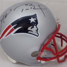 Tom Brady and Julian Edelman Autographed Signed New England Patriots Helmet BECKETT