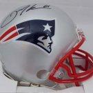 Julian Edelman Autographed Signed New England Patriots Mini Helmet BECKETT