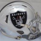 Rich Gannon Signed Autographed Oakland Raiders Chrome Mini Helmet BECKETT