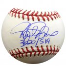 Rafael Palmeiro Cubs Orioles Rangers Autographed Signed MLB Baseball PSA