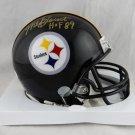 Mel Blount Autographed Signed Pittsburgh Steelers Mini Helmet JSA