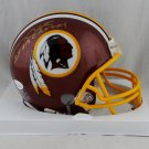 Gary Clark Signed Autographed Washington Redskins Mini Helmet JSA