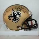 Morten Andersen Autographed Signed New Orleans Saints Mini Helmet JSA