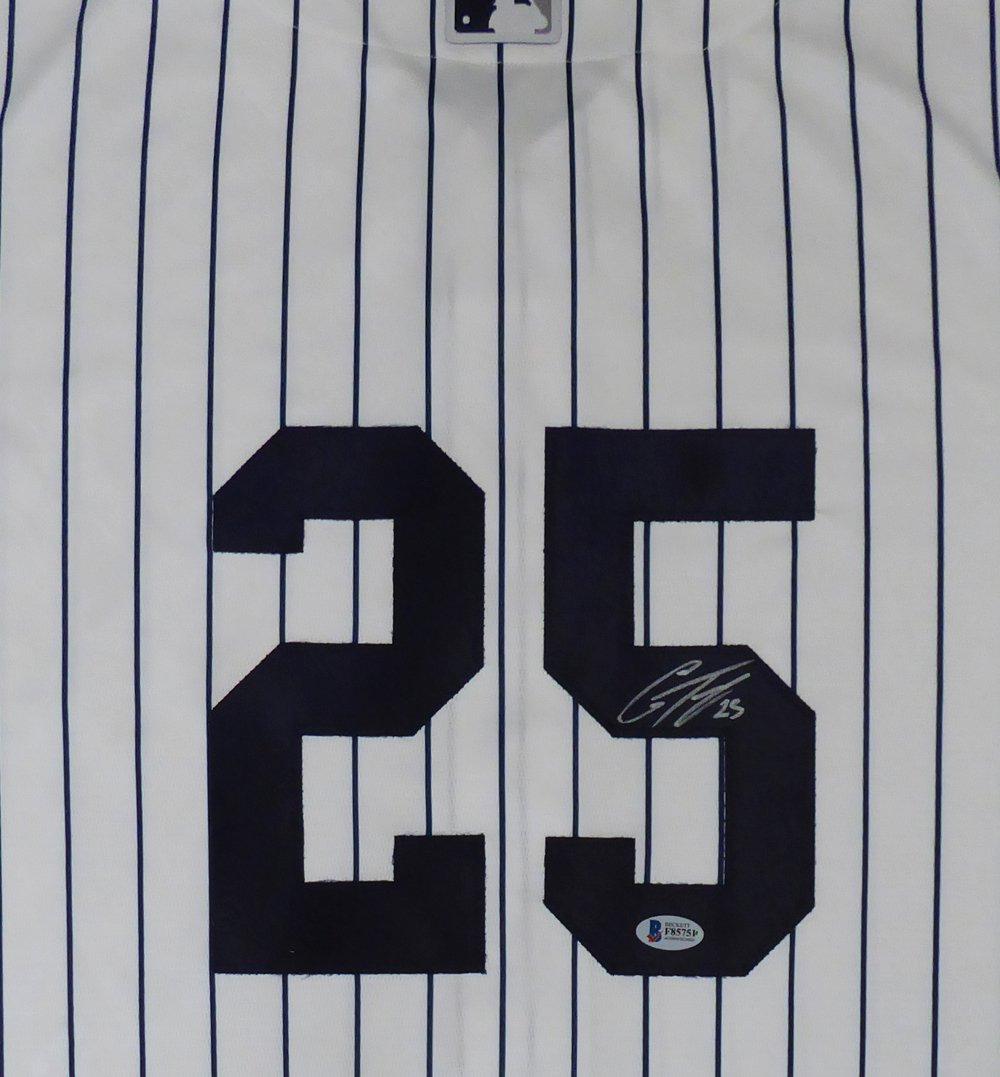 Gleyber Torres Signed Autographed New York Yankees Majestic Jersey BECKETT