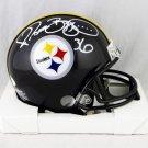 Jerome Bettis Autographed Signed Pittsburgh Steelers Mini Helmet JSA