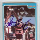 Patrick Ewing New York Knicks Autographed Signed 1986 Star Rookie Card PSA