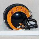 Orlando Pace Autographed Signed Los Angeles Rams Mini Helmet JSA