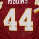 John Riggins Autographed Signed Washington Redskins Jersey JSA