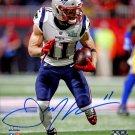 Julian Edelman Patriots Autographed Signed 8x10 Photo BECKETT