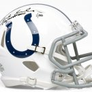 Andrew Luck Signed Autographed Indianpolis Colts Mini Helmet PANINI