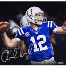 Andrew Luck Signed Autographed Indianpolis Colts 16x20 Photo PANINI