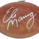 Eli Manning New York Giants Autographed Signed NFL Football BECKETT