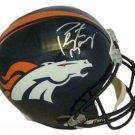 Peyton Manning Autographed Signed Denver Broncos Full Size Helmet JSA