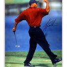 Tiger Woods Signed Autographed 16x20 Masters Photo UPPER DECK