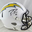Phillip Rivers Autographed Signed San Diego Chargers FS Speed Helmet BECKETT