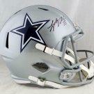 Leighton Vander Esch Autographed Signed Dallas Cowboys FS Speed Helmet BECKETT