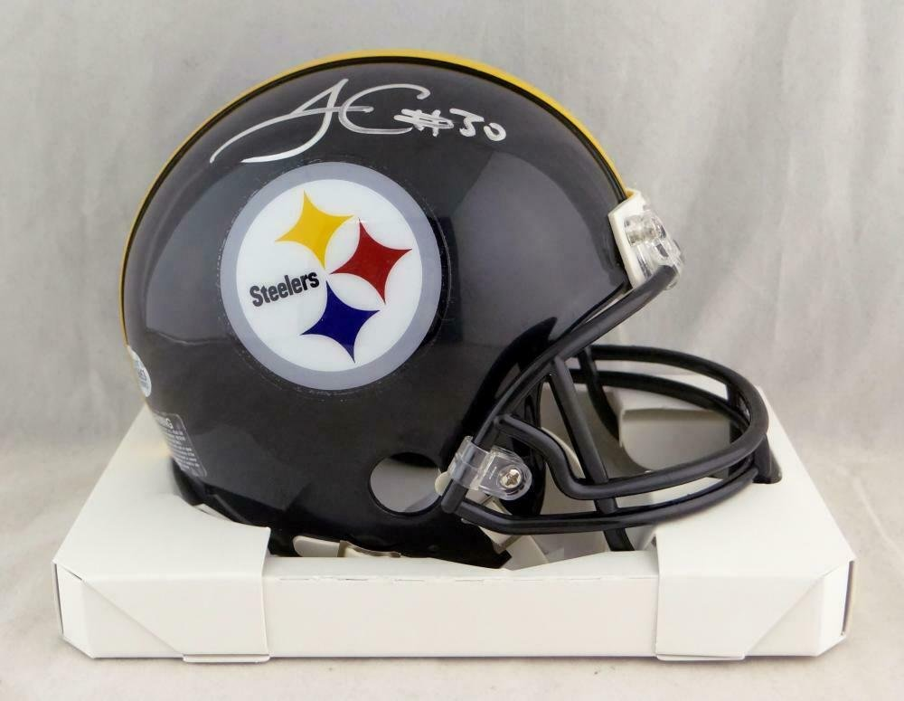 James Conner Autographed Signed Pittsburgh Steelers Mini Helmet BECKETT