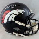 Phillip Lindsay Autographed Signed Denver Broncos Full Size Speed Helmet JSA