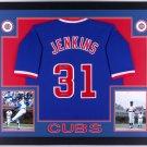 Ferguson Jenkins Autographed Signed Chicago Cubs Framed Jersey JSA